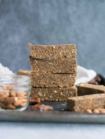 Coconut Pumpkin Spice Latte Energy Bars