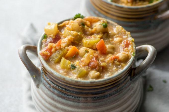 Vegan Chickpea Quinoa Stew