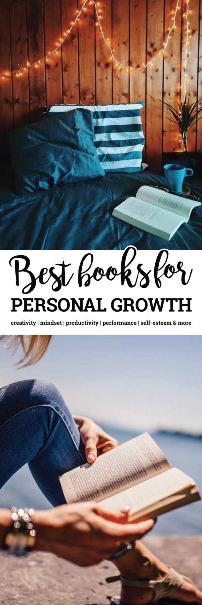This list of the best self-development books includes books in personal growth categories such as business, entrepreneurial, spirituality, meditation, philosophy, productivity, self-love, wellness, finance, health and more. Plus tips on how to make reading a habit.