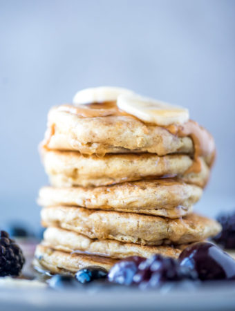 Vegan Quinoa Flour Pancakes