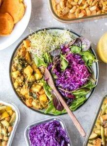 Vegan Meal Prep Ideas | week 9 | black pepper tofu