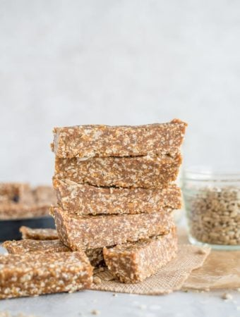 Sunflower Sesame Homemade Energy Bars