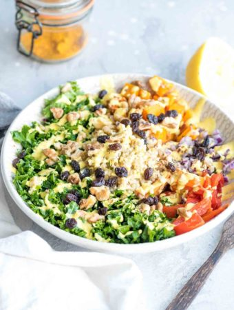Butternut Squash Freekeh Salad Bowls
