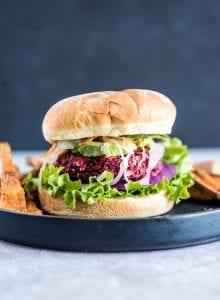 Healthy Beet Burger Recipe   Running on Real Food