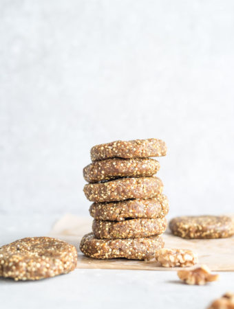 No-Bake Superfood Cookies
