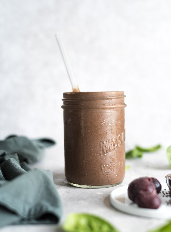 Best Vegan Healthy Breakfast Smoothies - Running on Real Food