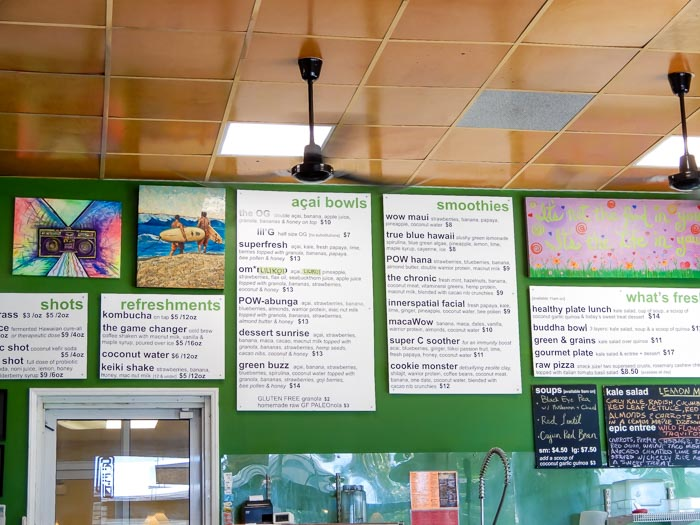 Where to Find Vegan Food in Lahaina, Maui