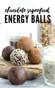 Chocolate Superfood Energy Balls