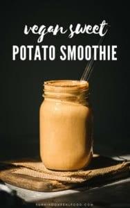 Vegan Sweet Potato Smoothie