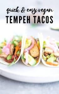 Easy Vegan Tempeh Tacos