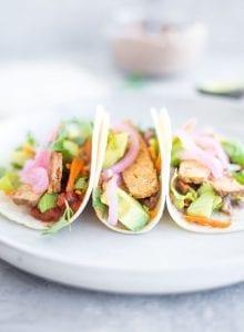 Easy Vegan Tempeh Taco - Running on Real Food