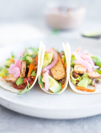Easy Vegan Tempeh Taco - Running on Real Food