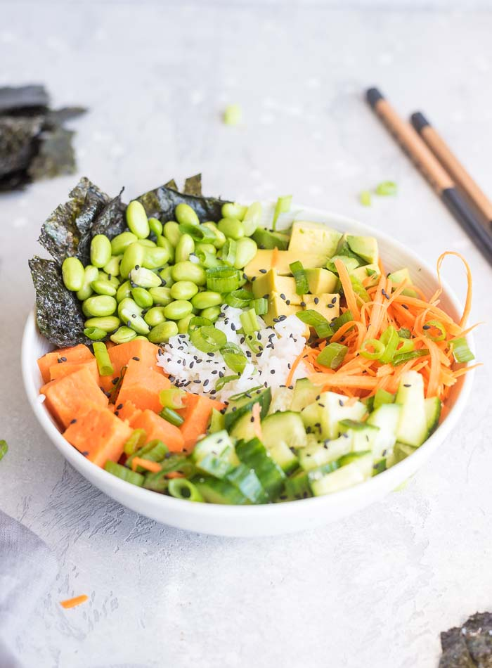 How to Make a Sushi Bowl - Running on Real Food