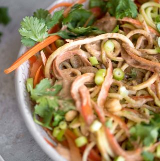 Almond Vegan Pad Thai Sauce - Running on Real Food
