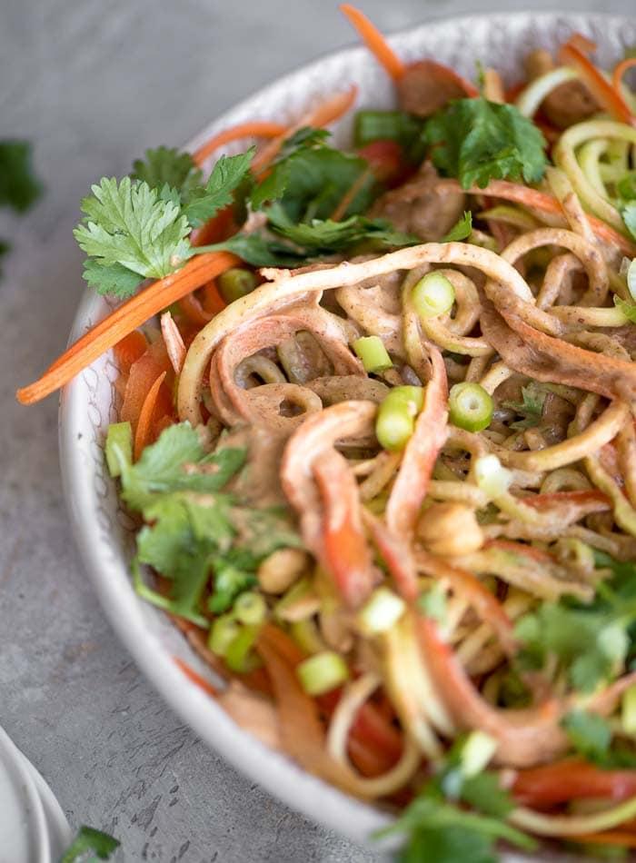 Pad Thai Vegetable Noodle Salad