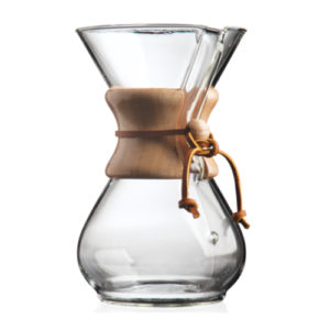Chemex 6 Cup Coffee Maker Running on Real Food Shop