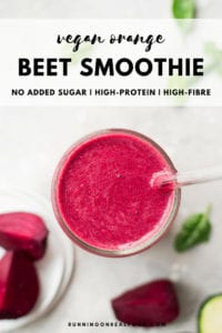 Vegan beet Orange Smoothie