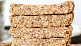 Snack: No-Bake Oatmeal Bars