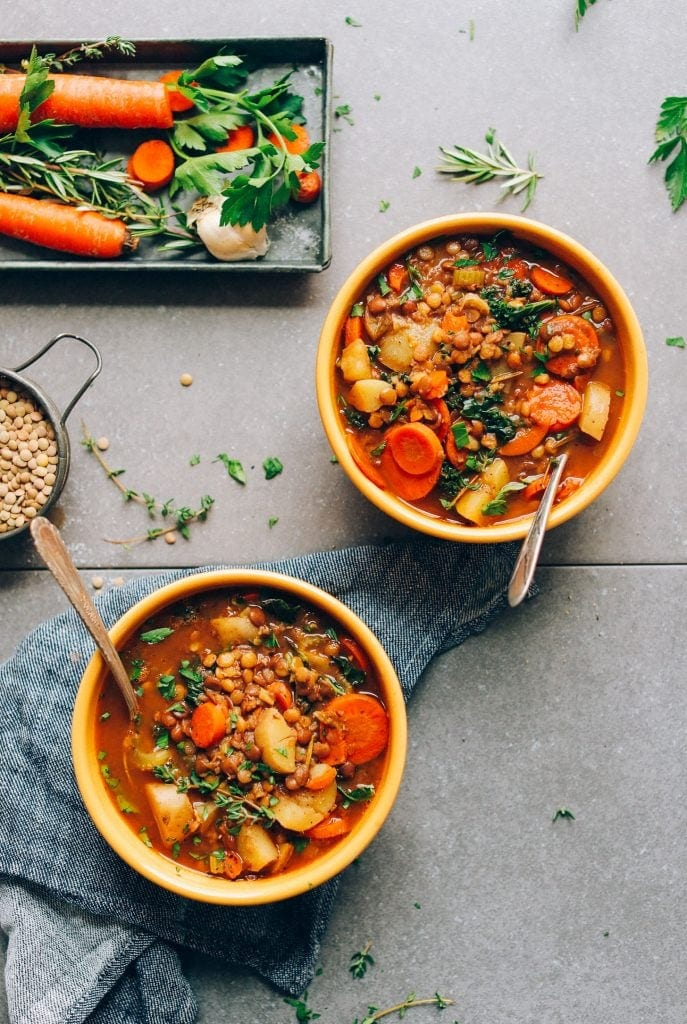 Easy One Pot Lentil Soup