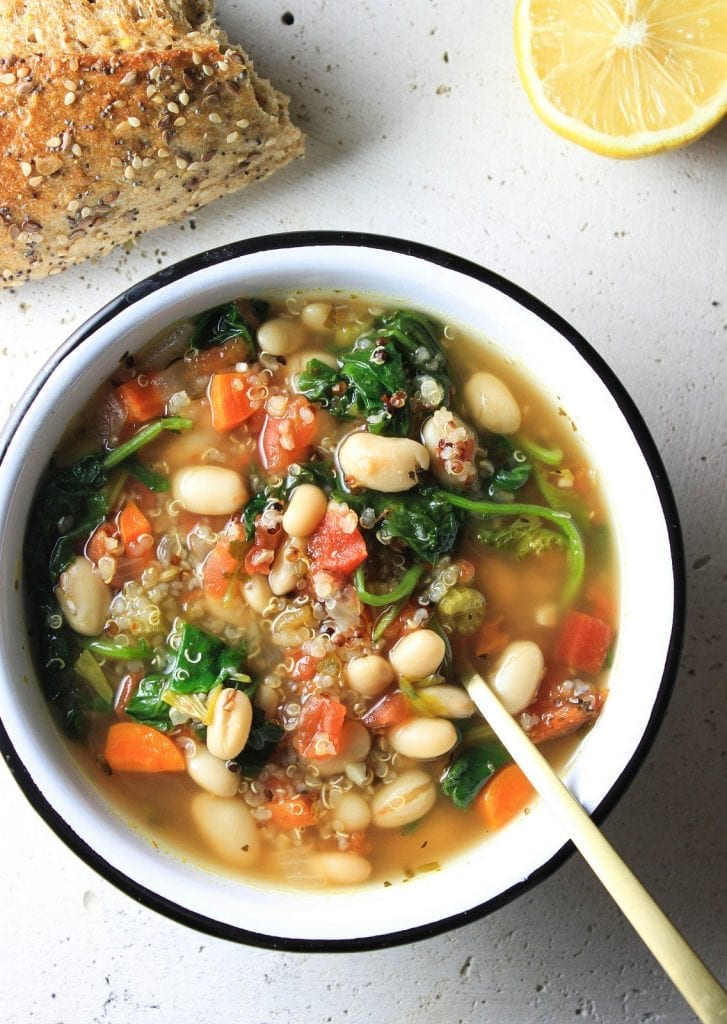 Best Easy Healthy Vegan Soup Recipes - Running on Real Food