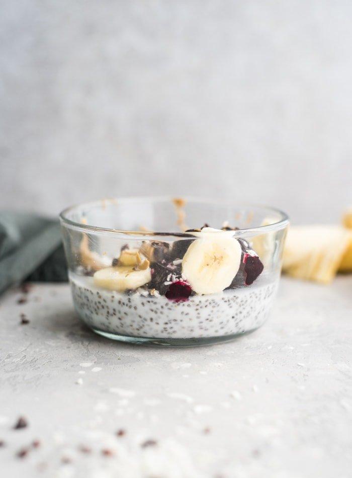 Vanilla Coconut Chia Pudding - Running on Real Food