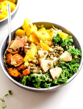 Simple Vegan Fall Harvest Bowl