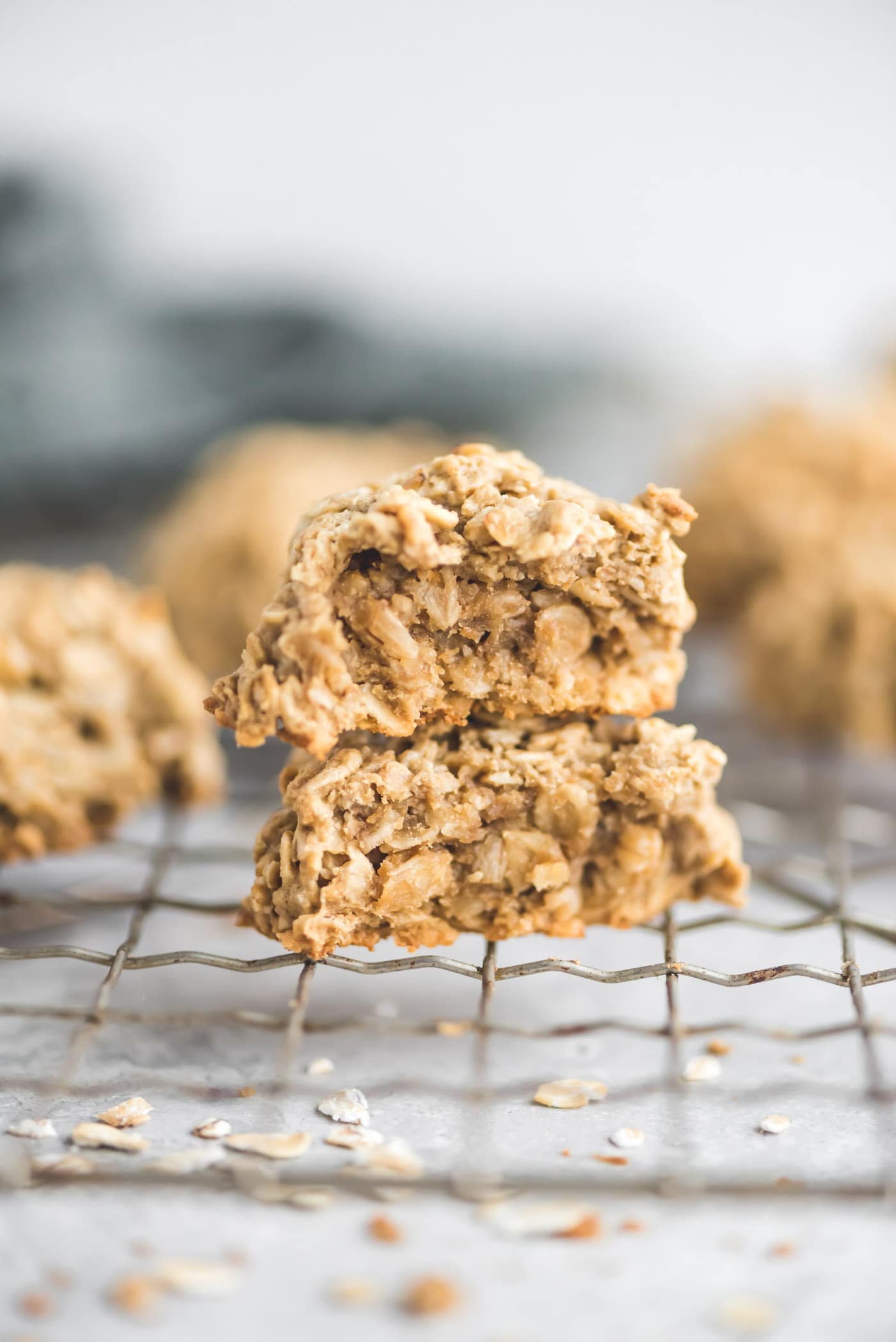Easy Vegan Oatmeal Cookie Recipe - Oil-free and Gluten-Free - Running on Real Food