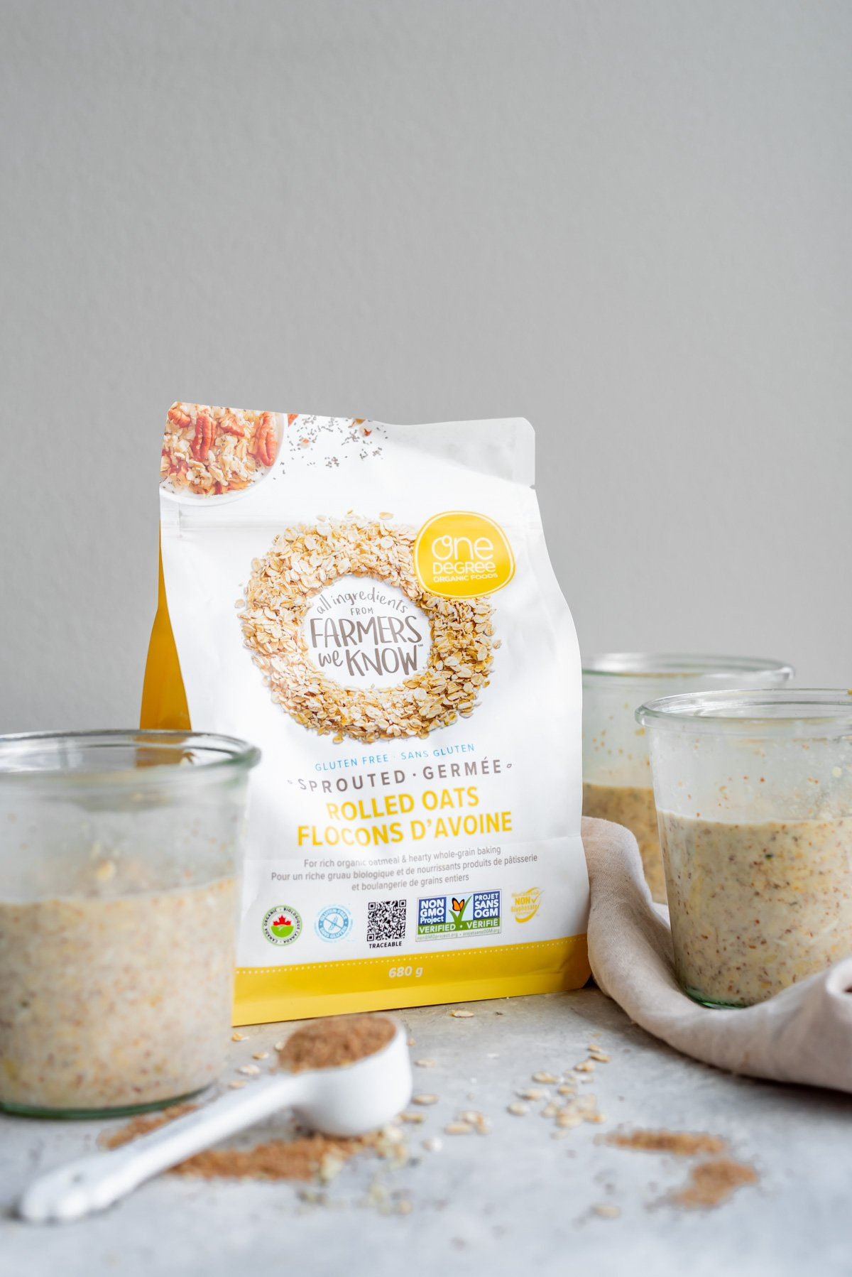 One Degree Organics Sprouted Oats - Running on Real Food
