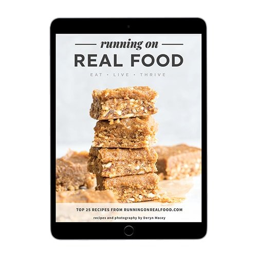 Free recipe ebook at the Running on Real Food Shop.