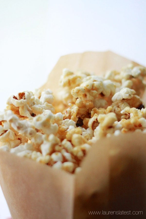 Healthy Caramel Popcorn Recipe