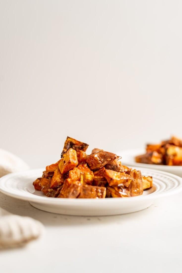 Miso Glazed Sweet Potato