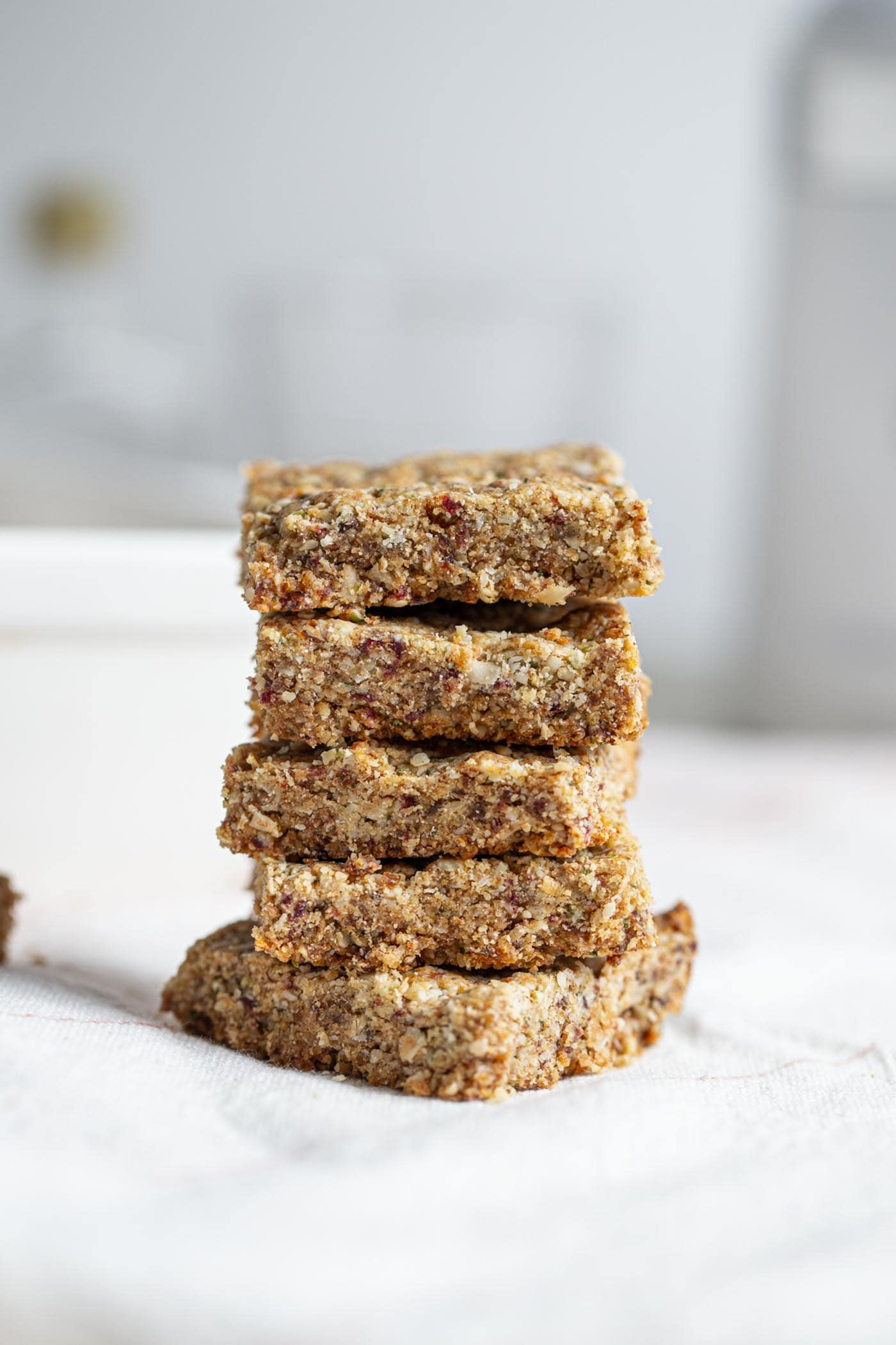 Vegan Tahini Hemp Seed Bars Running On Real Food