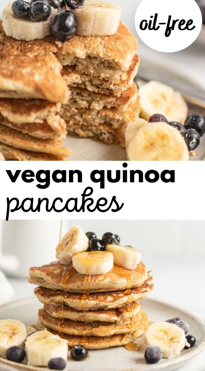 quinoa flour pancake pin 1