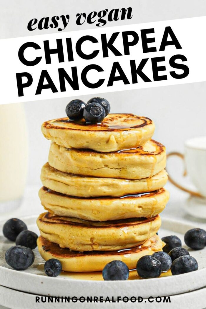 chickpea flour pancakes pin 1